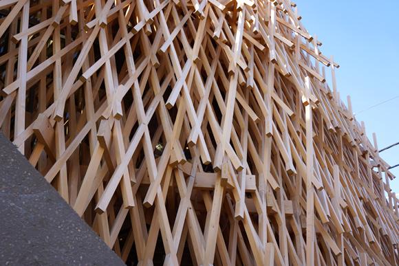 サニーヒルズの木組み