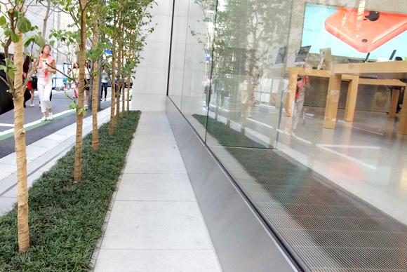 Apple Store表参道外壁部分