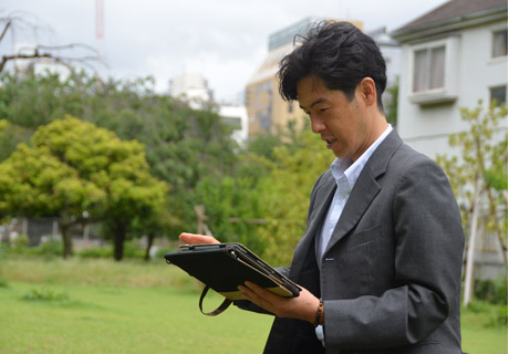 コスモス不動産管理株式会社 高野さん写真